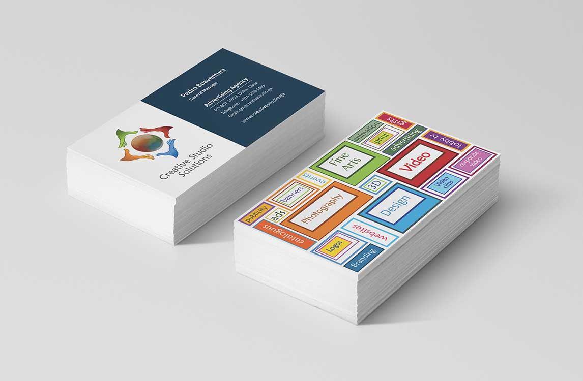 Design Cartões de apresentação